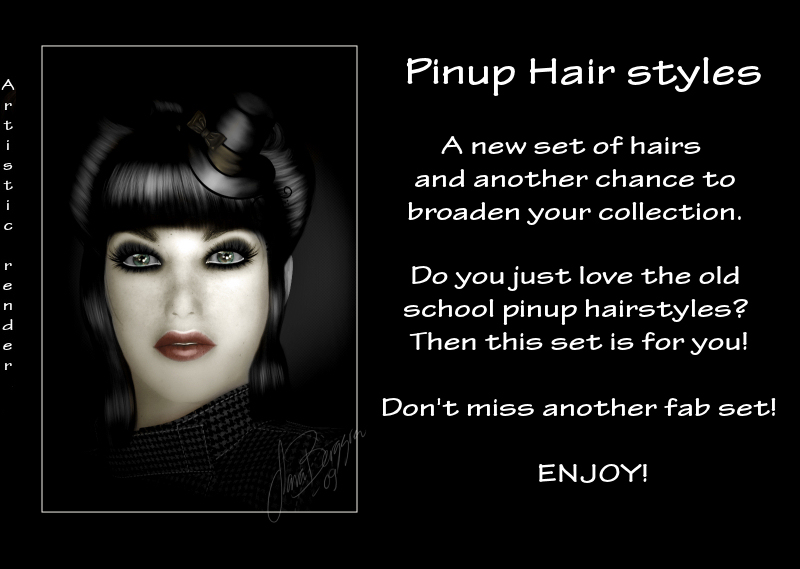 Pinup Hair styles