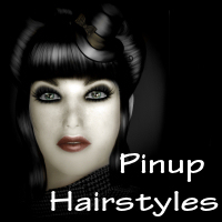 Pinup Hair styles  2D And/Or Merchant Resources NemesisT