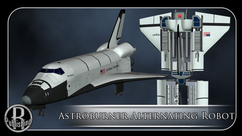 Astroburner Alternating Robot