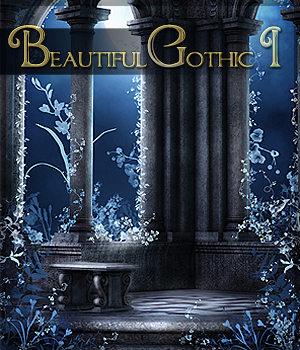 Beautiful Gothic I 2D Graphics Sveva