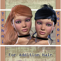 BW Technicolors for Addition HairStyles  WildDesigns