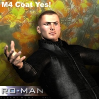 M4 Coat Yes! 3D Figure Essentials RO_MAN