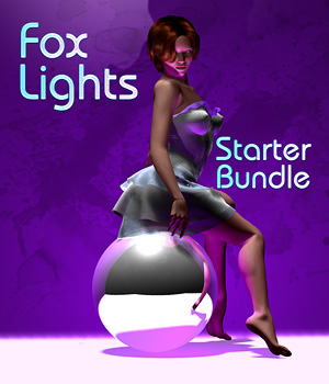 Fox Lights - Starter Bundle 3D Lighting : Cameras Digital-Lion