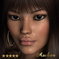Amber V4 3D Figure Essentials LMDesign