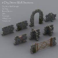 Merlin's Dry Stone Wall image 1