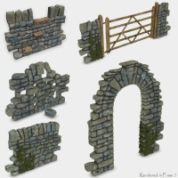 Merlin's Dry Stone Wall image 3