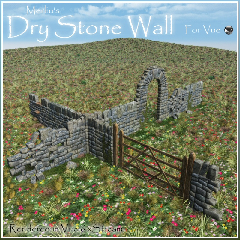 Merlin's Dry Stone Wall Vue Version