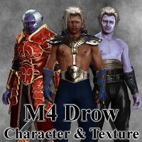 M4 Drow 3D Figure Essentials greyson5
