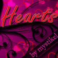 Heart Brushes Themed 2D And/Or Merchant Resources mystikel