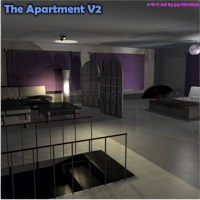 Stylish Apartment by 3-d-c image 2