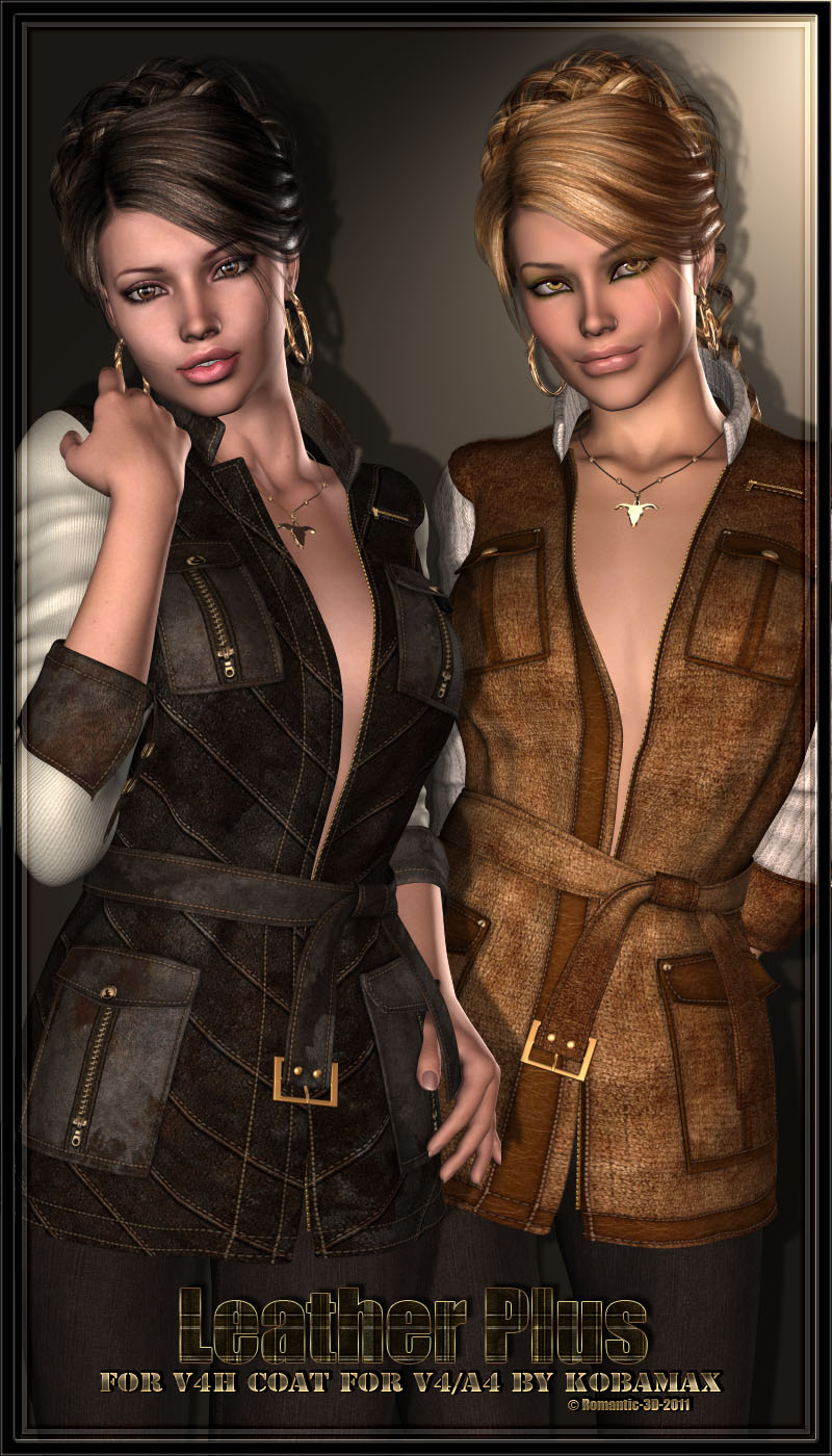 Leather Plus- for V4H coat for V4/A4