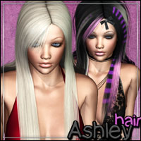 Ashley Hair 3D Figure Assets outoftouch