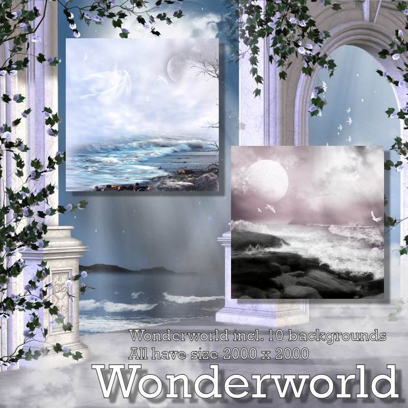 Wonderworld Backgrounds