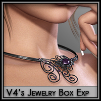 Jewelry Box Expansion 3D Figure Assets Silver