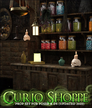 The Curio Shoppe 3D Models LukeA