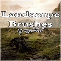 Landscape Brushes 2D Graphics 3D Models mystikel