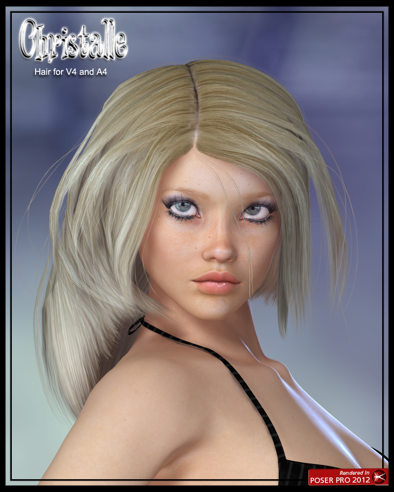 Christalle Hair for V4