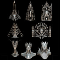 Pagan Structures .OBJ Pack image 1