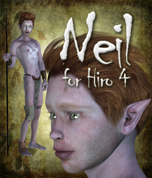 Neil for Hiro 4 3D Figure Assets Tipol