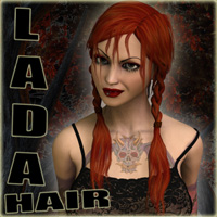 Lada Hair 3D Figure Essentials Nursoda