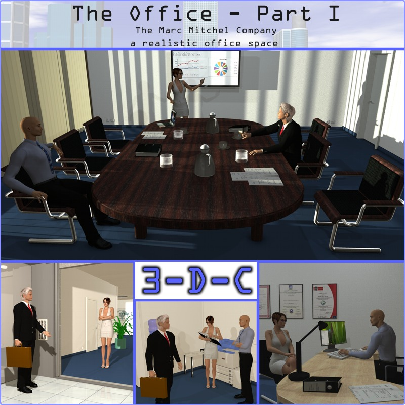 The Office Part 1 by 3dc