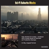 Sci-Fi Suburbs Blocks by rodluc2001