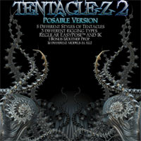 Tentacle-Z 2 Posable 3D Models Poisen