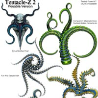 Tentacle-Z 2 Posable image 2