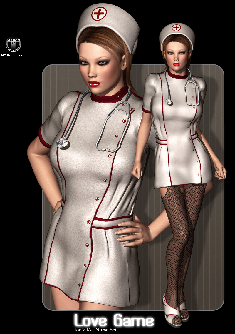 LOVE GAME for V4A4 Nurse Set by billy-t