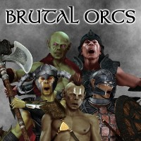 Brutal Orcs 3D Figure Essentials 3D Models greyson5