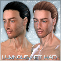 Luminous Wet Hair 3D Figure Essentials Raiya