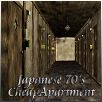 Japanese70'sCheapApartment 3D Models reika