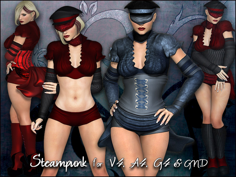 Steampunk for V4, A4, G4 & GND4