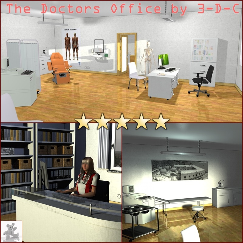 The Doctors Office by 3-D-C