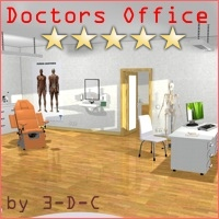 The Doctors Office by 3-D-C 3D Models 3D Figure Assets 3-d-c