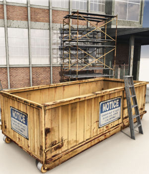 Rolloff Dumpsters by DreamlandModels