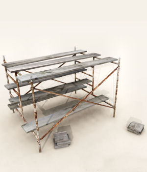 Scaffolding 3D Models DreamlandModels