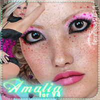 Amalia for V4 and Jewelry Characters Accessories Clothing _Fenrissa_