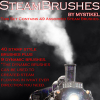 Steam Brushes 2D Graphics 3D Models mystikel