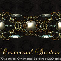 Ornamental Borders 2D designfera