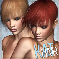 Kat Hair 3D Figure Essentials outoftouch