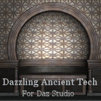 Dazzling Ancient Tech for DS 3D Figure Assets 3D Models Khory_D