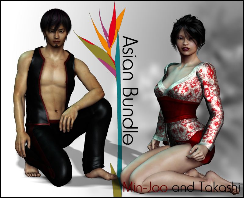 Asian Bundle : Takashi & Min-Joo