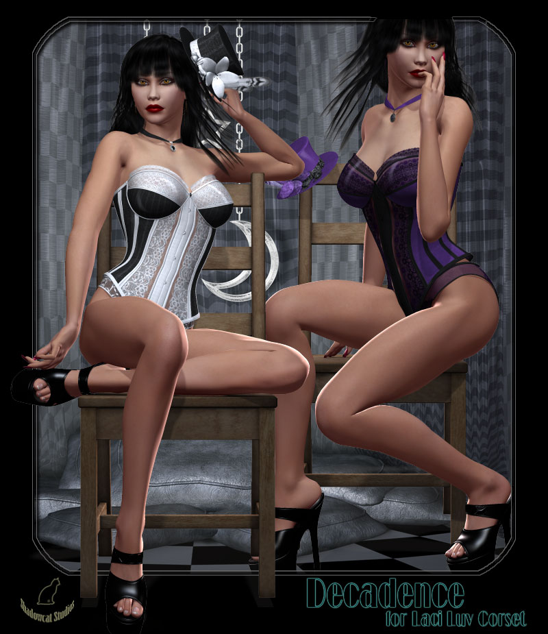 Decadence for Laci Luv Corset