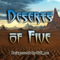 Deserts of Five 2D Graphics 3D Models didi_mc