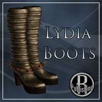 Lydia Boots V4, A4, G4, GND Clothing RPublishing