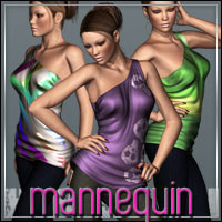 HIGHFASHION: Mannequin for V4/A4/G4 3D Figure Essentials outoftouch