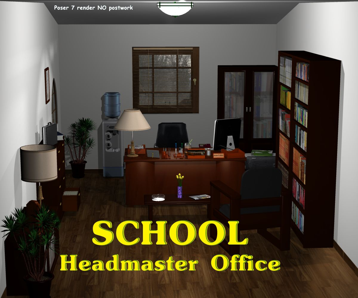 School Headmaster Office