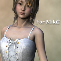 M2E dress for Miki2 3D Figure Essentials kobamax