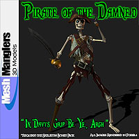 Pirate of the Damned 3D Models keppel